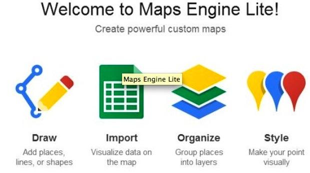 Google Maps Engine Lite: Kostenlose Karten im Eigenbau