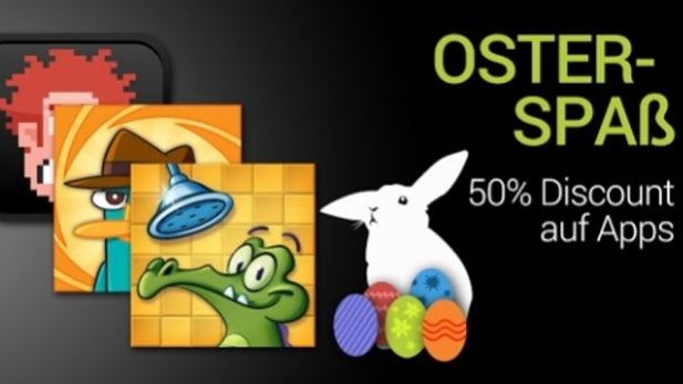 Google Play mit App-Deals zu Ostern
