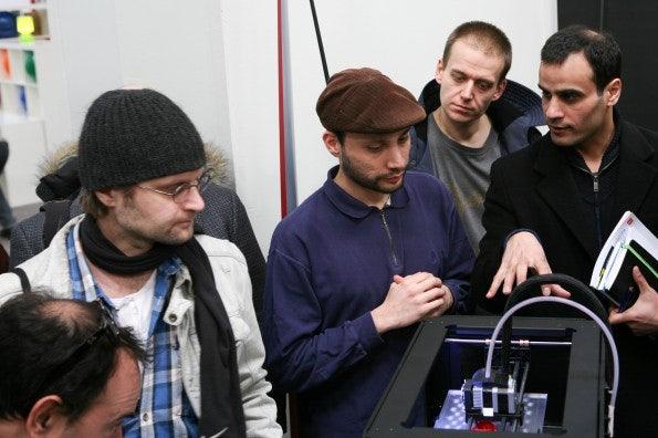 Der Coworking-Space Edelstall präsentiert 3D-Drucker von Makerbot.