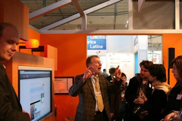 E-Learning-Plattform openHPI des Hasso Plattner Instituts wird vorgestellt.