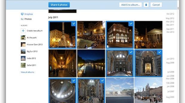 Dropbox entwickelt sich mit Fotofunktion und Dateivorschau weiter