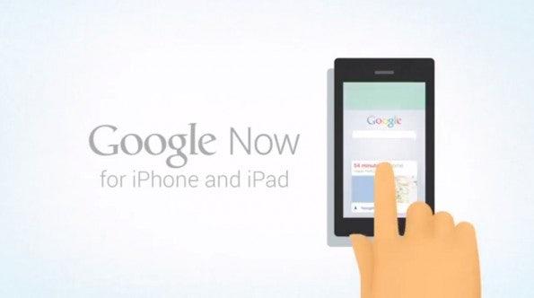 Google Now soll laut dem angeblichen Werbevideo Teil der vorhandenen Google-App für iOS werden.