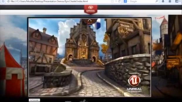 Mozilla und Epic bringen Unreal-Engine in den Browser
