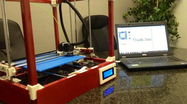 RigidBot: Solider 3D-Drucker für 235 Euro