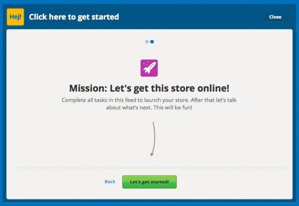 In wenigen Schritten kann man mit TicTail loslegen (Screens: JGWeber/TicTail)