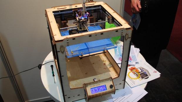 Übersicht: 3D-Drucker auf der CeBIT 2013