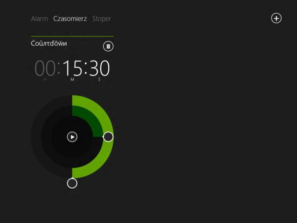 Windows Blue schließt zu Android und iOS auf, und bietet nun auch eine Uhr-Applikation mit Timer, Stoppuhr und Wecker.