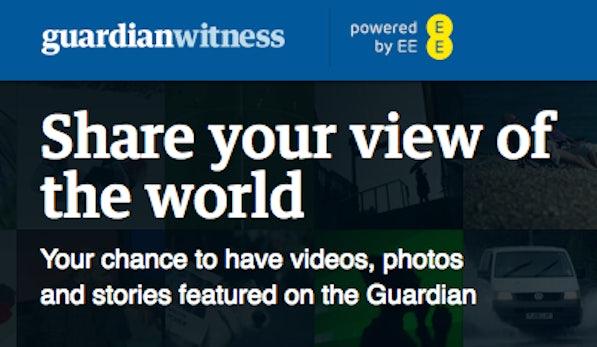 Guardian Witness – Englands bekannteste Zeitung setzt auf Bürgerjournalisten