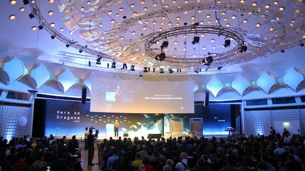 Dome Stage - die Hauptbühne auf der NEXT Berlin. (Bild: Andreas Weck)
