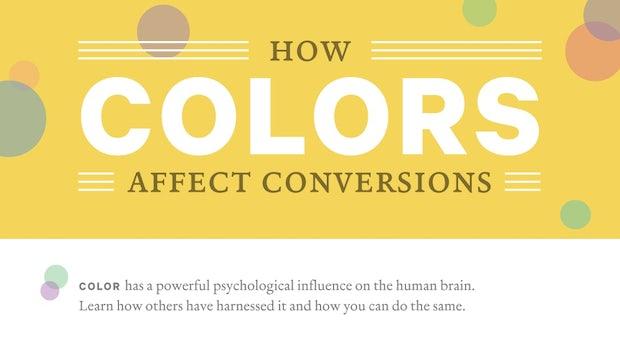 Wie Farben die Conversion-Rate beeinflussen