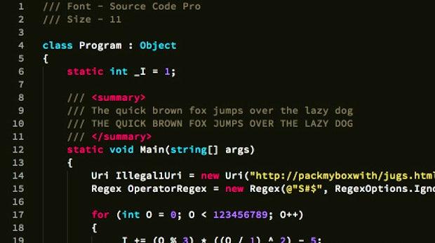 Schicker Code: Die besten Fonts zum Programmieren
