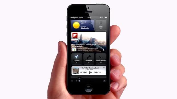 iOS-7-Konzept zeigt überarbeitete Apps und neues Notification-Center