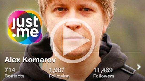 just.me: Das soziale Netzwerk, das alles besser machen will [Video]