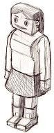 Später entschied man sich dazu Pegman als Figur darzustellen. Angedacht war eine Frau. Auch weil die 3D-Darstellung damals als sehr innovativ galt.
