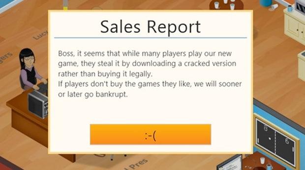 Spiele-Entwickler trollen Software-Piraten