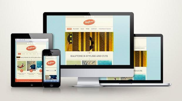 Responsive Design: Zehn kostenlose Webdesign-Templates