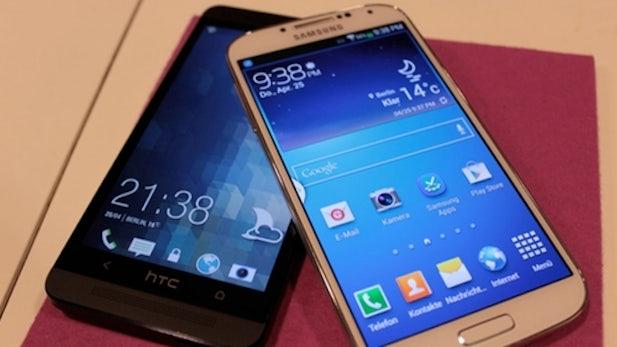 Samsung Galaxy S4 vs. HTC One – Die beiden Topmodelle im Vergleich