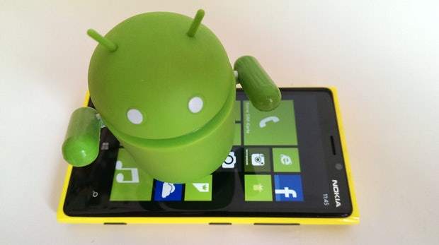Microsoft: Android-App schlägt alternative Windows-Phone-Apps vor