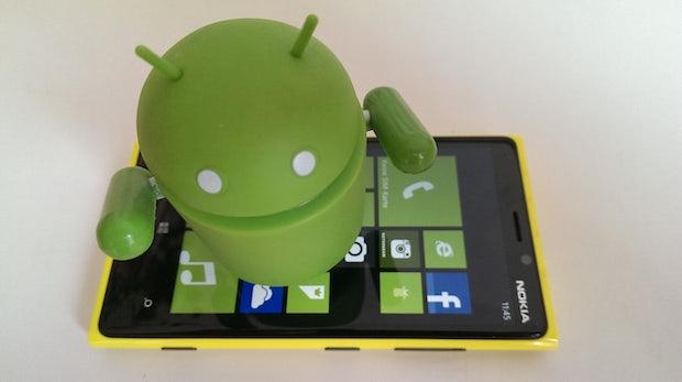Microsoft: Android-App schlägt alternative Windows-Phone-Apps vor