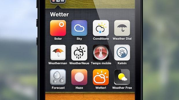 Auf der Suche nach der perfekten Wetter-App fürs iPhone