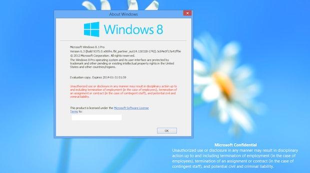 Windows Blue wird zum Marktstart vermutlich Windows 8.1 heißen