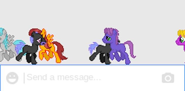 Ponys im Hangout: Eastereggs in Googles Chat