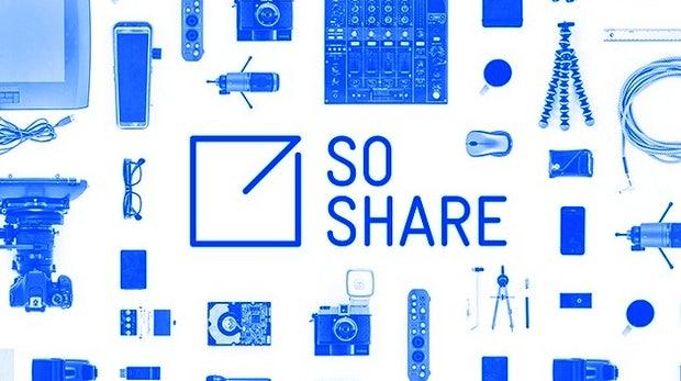 SoShare: Bis zu 1 Terabyte kostenloser Datentransfer