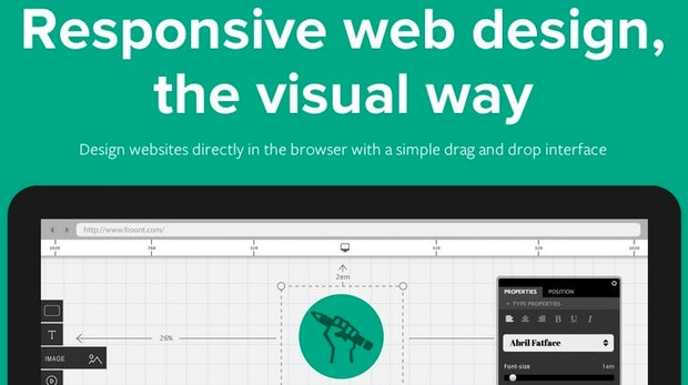 Froont: WYSIWYG-Editor zur Erstellung responsiver Websites