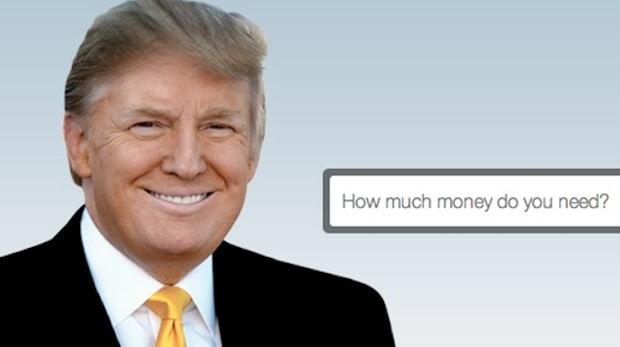 FundAnything: Kickstarter-Konkurrent von Multimillionär Donald Trump