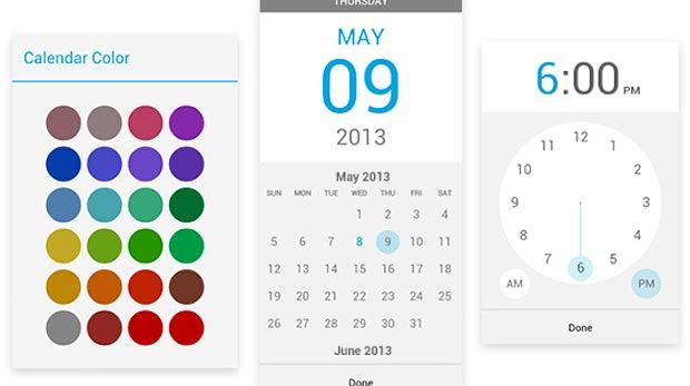 Google-Kalender für Android verschönert Zeitangaben
