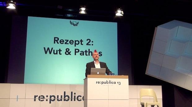 """Reclaim Social Media"": Sascha Lobo präsentiert WordPress-Baukasten zur Rückgewinnung eigener Inhalte [#rp13]"