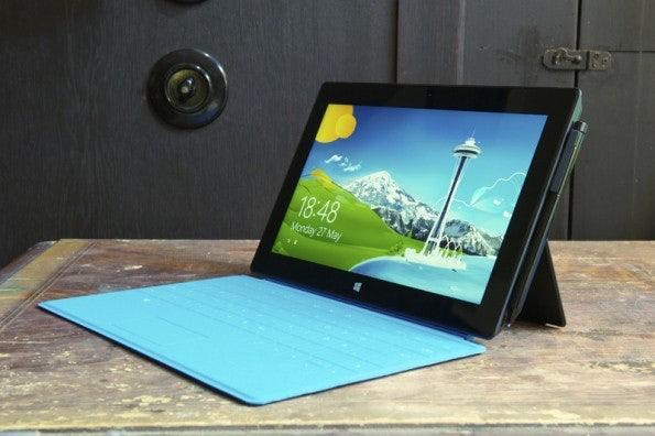 Im Gegensatz zum Surface RT läuft die Pro-Version auf Basis einer Intel-CPU. (Foto: Microsoft)