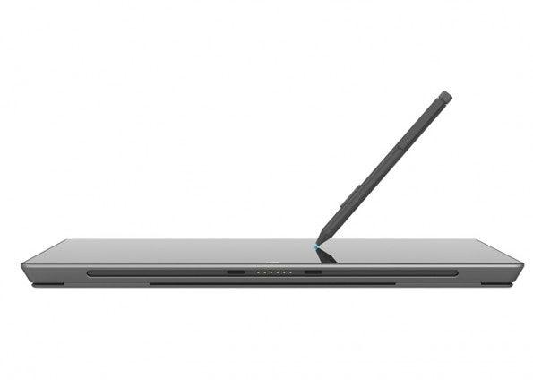Das Surface Pro bringt einen drucksensitiven Stylus mit. (Foto: Microsoft)