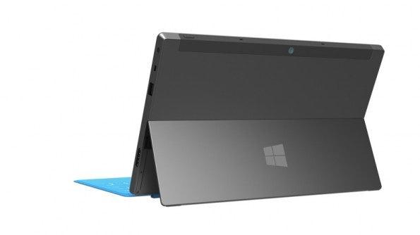 Der Kickstand des Surface Pro. (Foto: Microsoft)