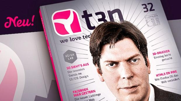 t3n 32 ist fertig: Die neuesten Trends im UI/UX-Design und Xing-Gründer Lars Hinrichs im Gespräch
