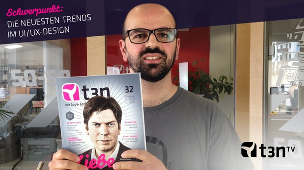 t3n Magazin 32: Einblicke ins Heft [Video]