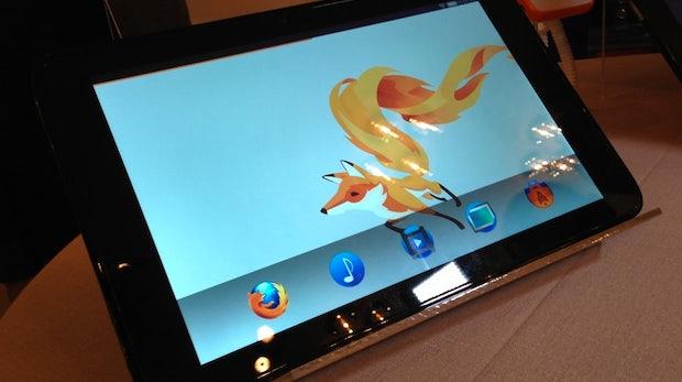 """Tablets mit Firefox OS kommen """"schnellstmöglich"""""""