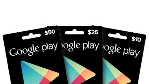 Google-Play-Geschenkkarten in Kürze bei Media Markt und Saturn