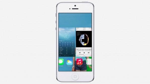 iOS 7 bringt mehr Multitasking auf iDevices (Bild: Apple)
