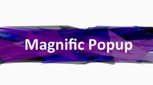 Magnific Popup: Responsive Performance-Lightbox ohne Schnickschnack