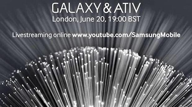 Samsung Galaxy-Ativ-Event heute Abend im Livestream verfolgen