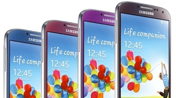 Samsung Galaxy S4: Jetzt wird's bunt