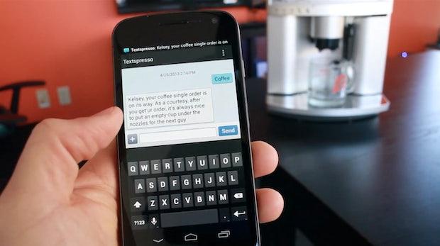 Textspresso: Kaffee per SMS bestellen dank Raspberry Pi