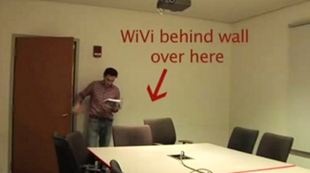 """Wi-Vi: Dank WLAN """"durch Wände sehen"""""""