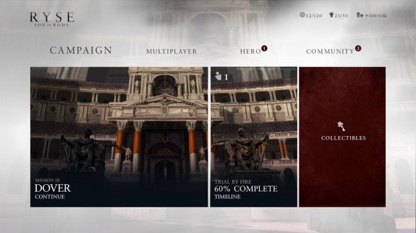 Ryse: Son of Rome für Xbox One.