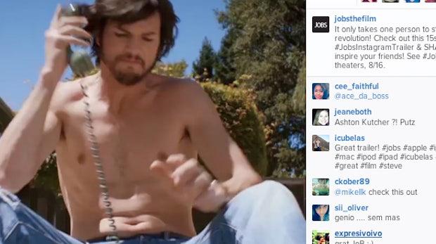 "Instagram: Neuer ""Jobs""-Trailer zeigt Werbepotential"