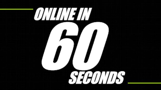 Was in 60 Sekunden im Internet passiert