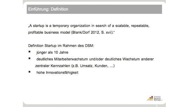 (Quelle: Deutscher Startup Monitor 2013)