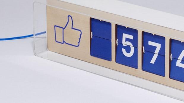 Facebook-Fan-Counter für die Ladentheke: Pre-Order des Fliike-Zählers gestartet
