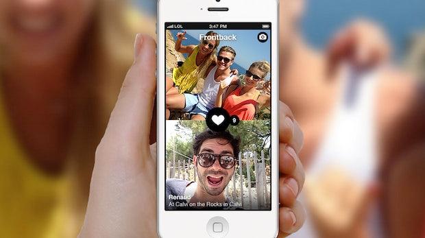 Foto-App Frontback zeigt, was vor und hinter der Kamera passiert